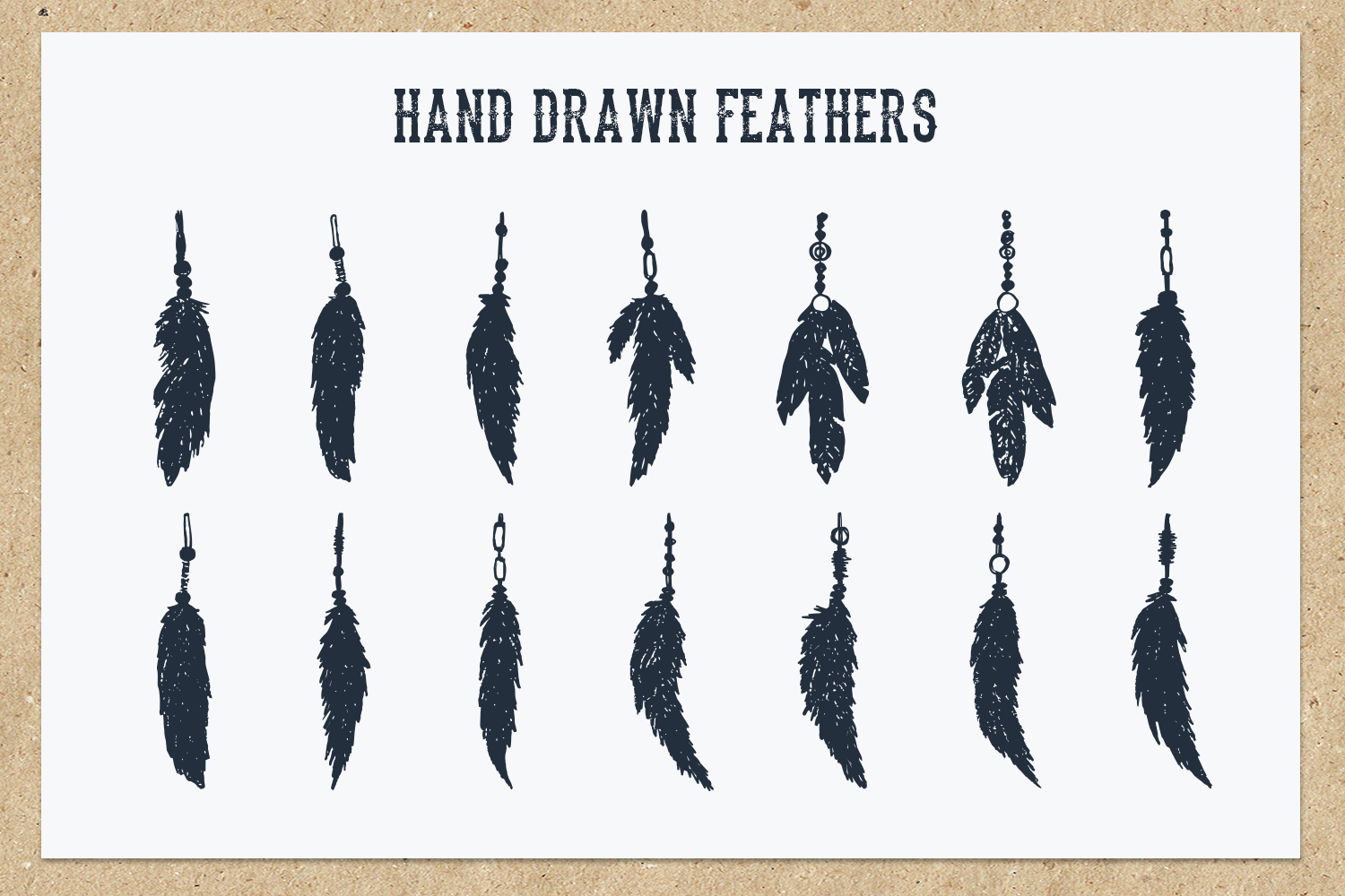 Native Spirit. 55 Hand Drawn Objects example image 6