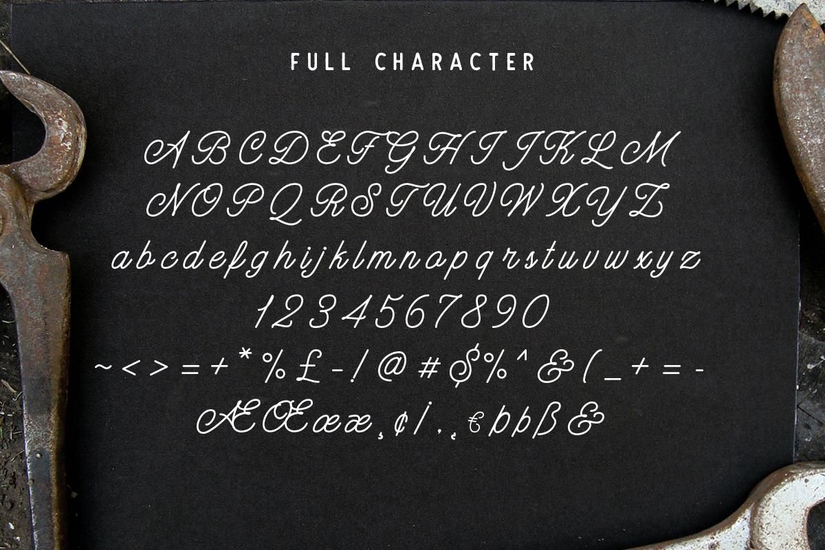 Hatterline Font + Sans example 5