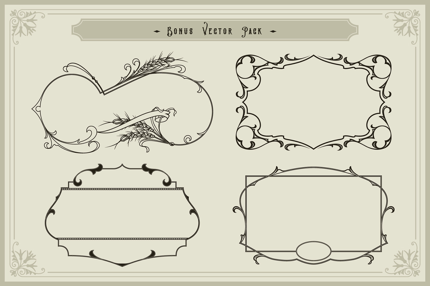 Victorian Fonts Collection example image 10