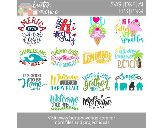 Burton Avenue Mega SVG Bundle for Cricut, Silhouette example image 6