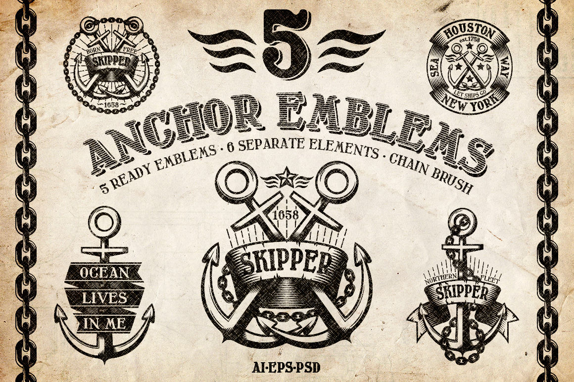 Marine Anchor Logos example image 1