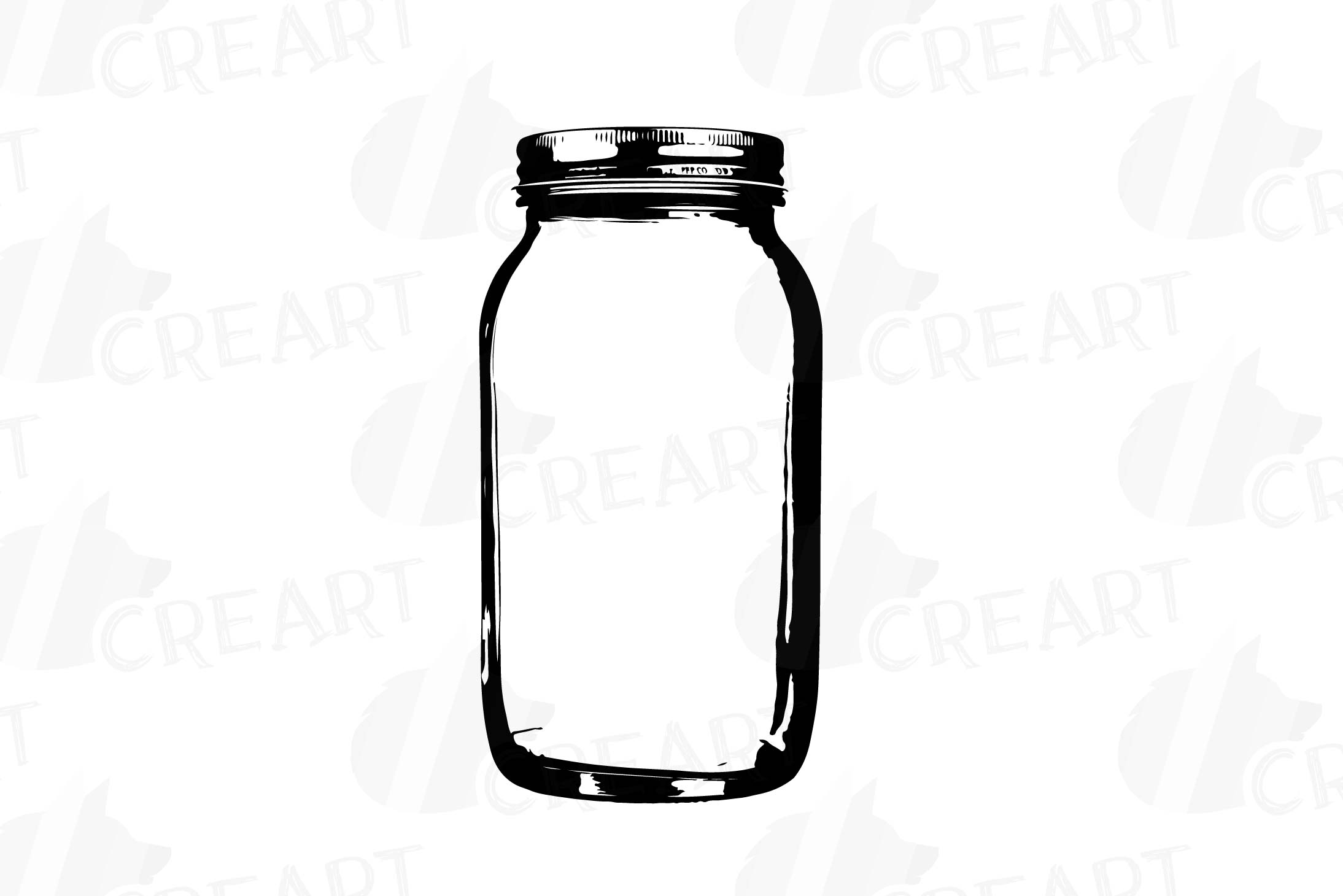 mason jars clipart glass jars clip art design bundles rh designbundles net mason jar clip art black and white mason jar clip art black and white