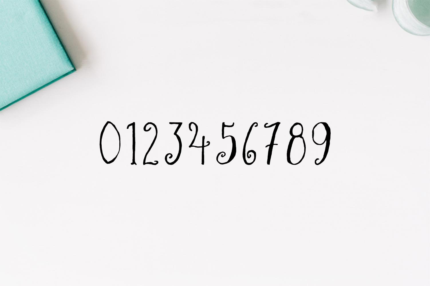Asma Brush Font example image 3