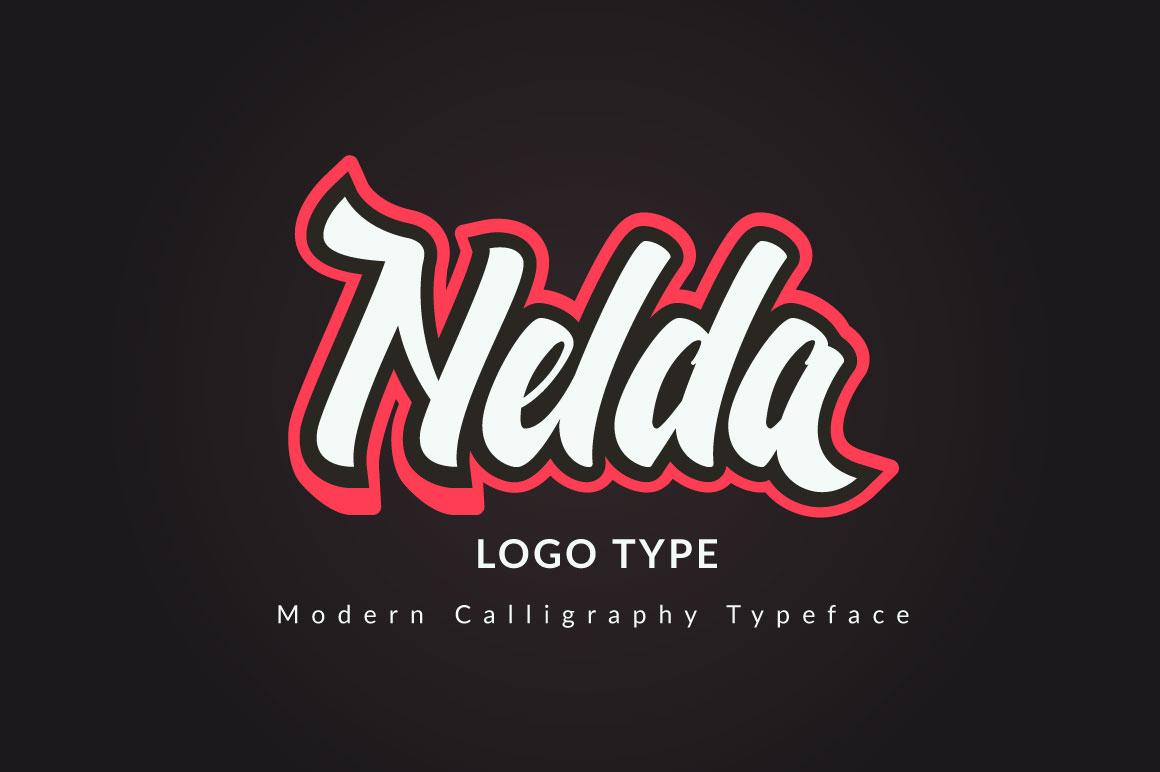 Nelda Typeface example image 1
