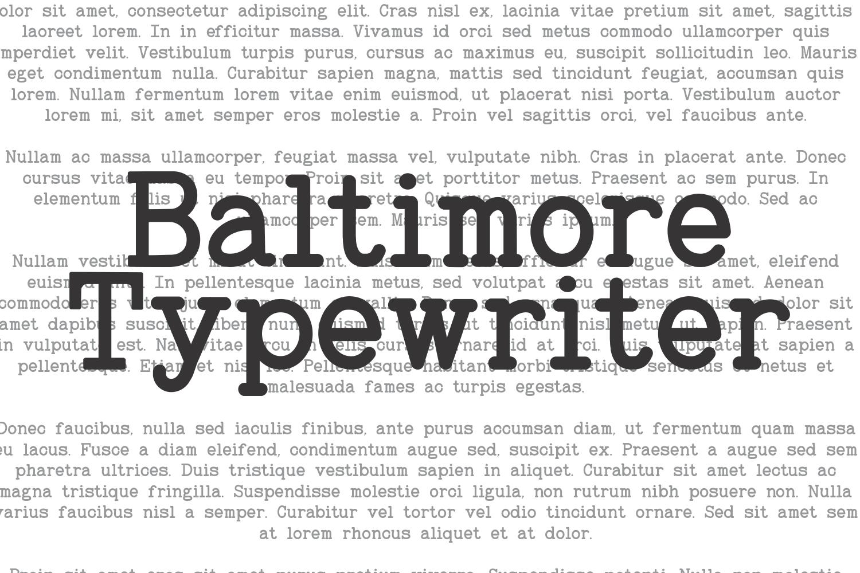 Baltimore Typewriter - SUPER PACK PROMOTION !  example image 2