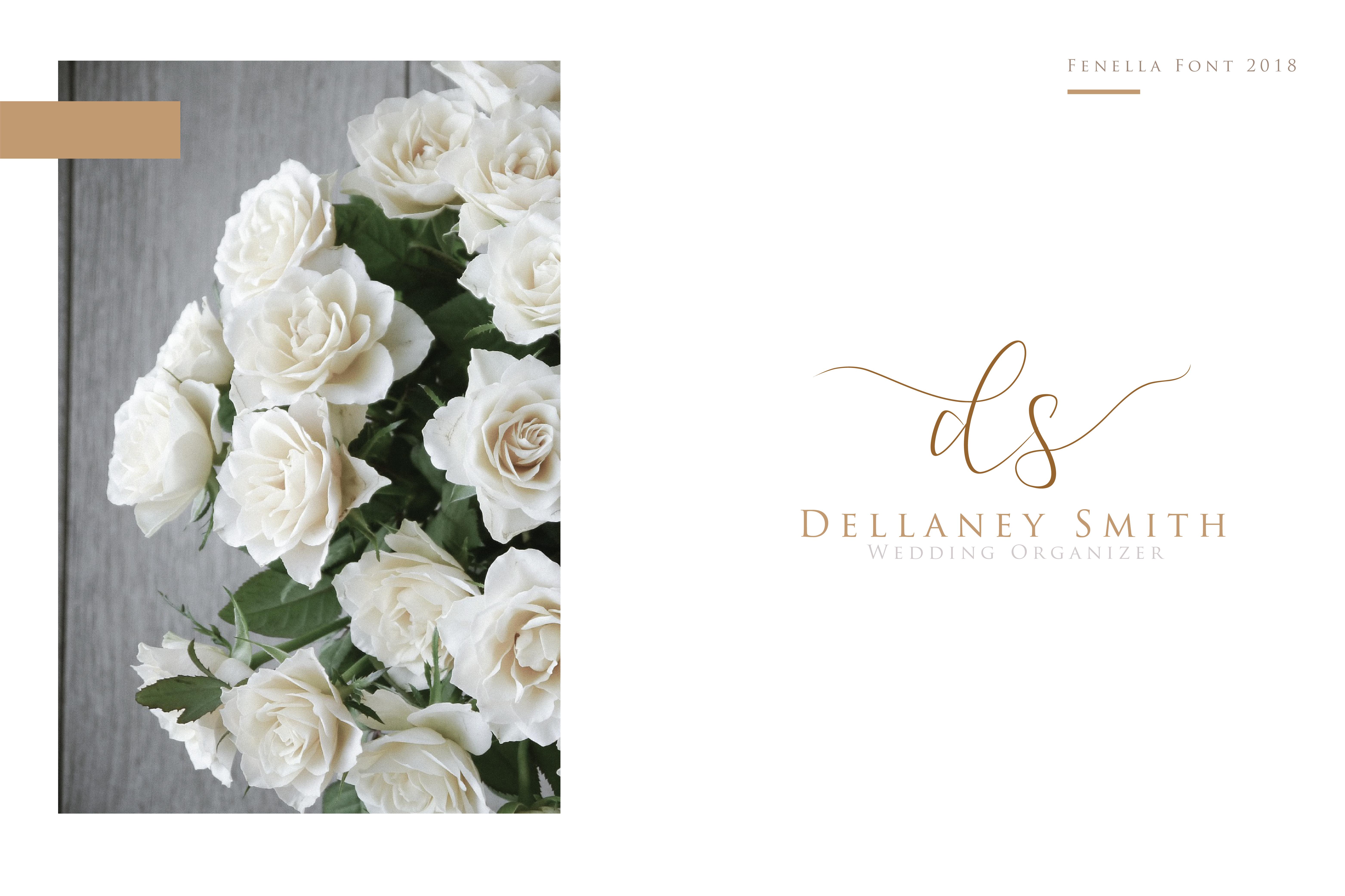 Fenella - Luxury Romantic Font example image 7