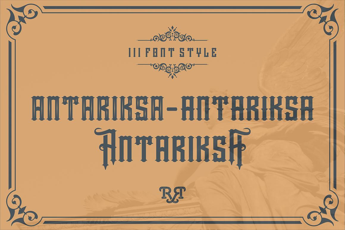 Aseina typeface example image 3