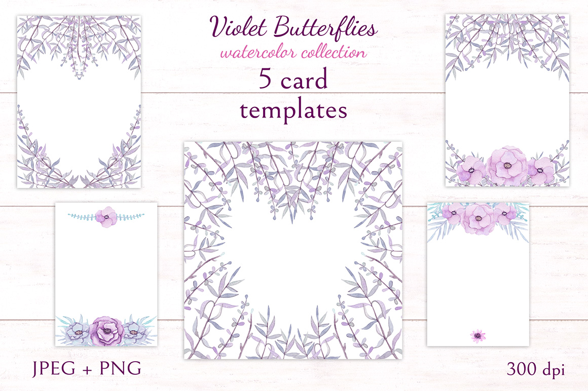Violet Butterflies example image 5