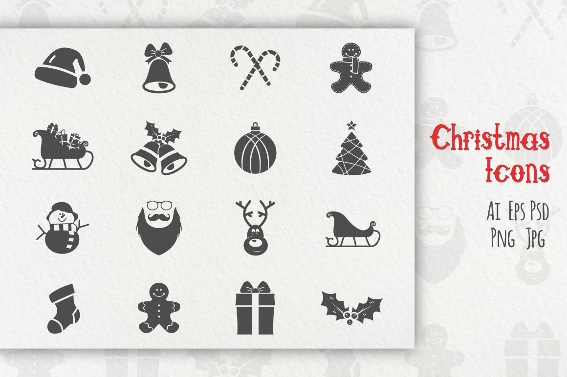 Christmas Icons Collection example image 1