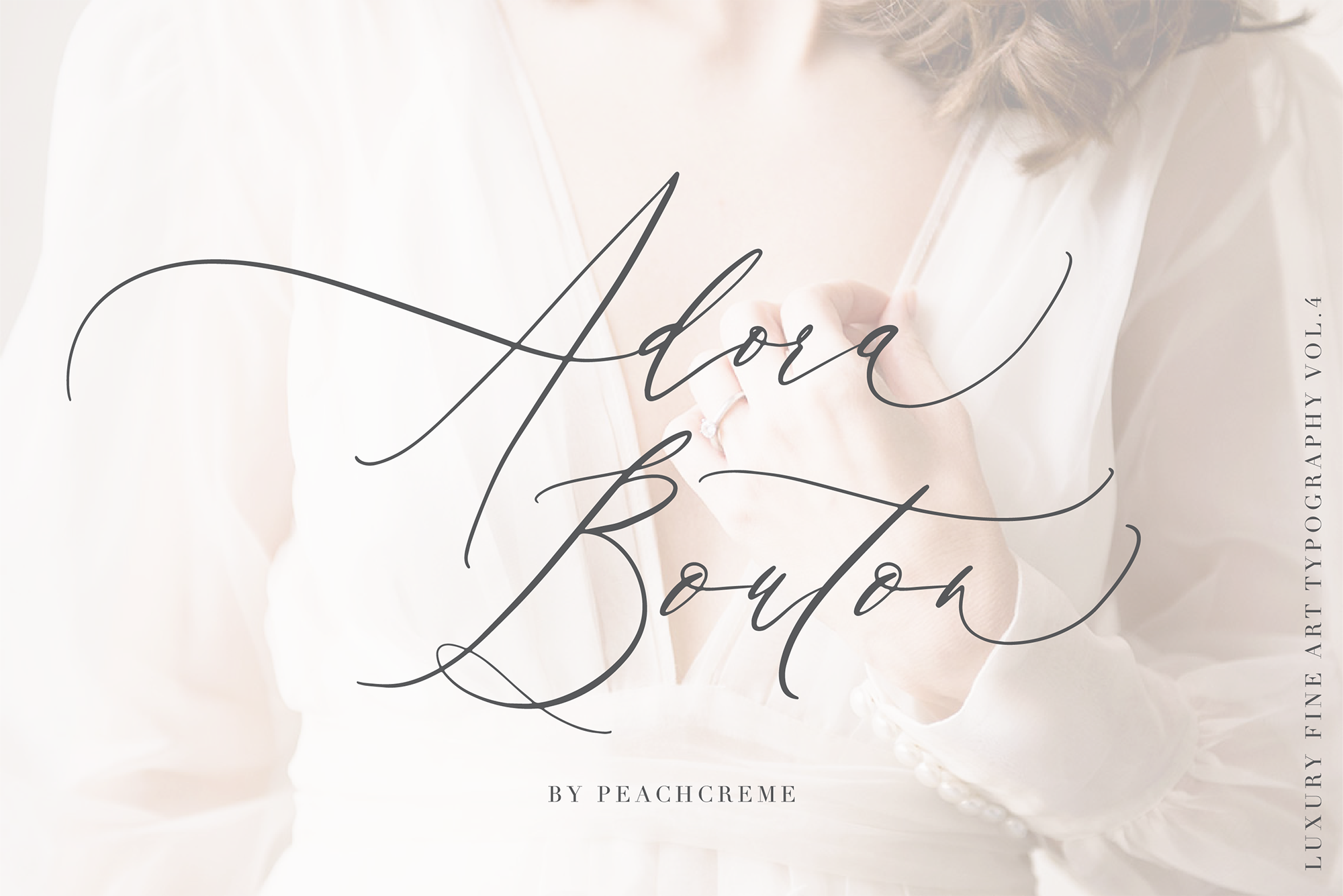 Adora Bouton-Luxury Script example image 1