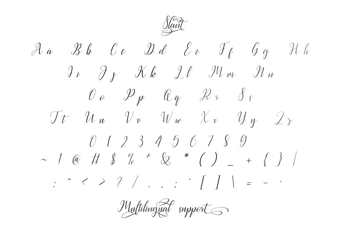 Latasha Font Family - 6 Font example image 10