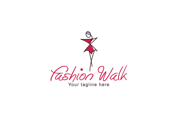 Fashion Walk - Stylish Abstract Feminin | Design Bundles