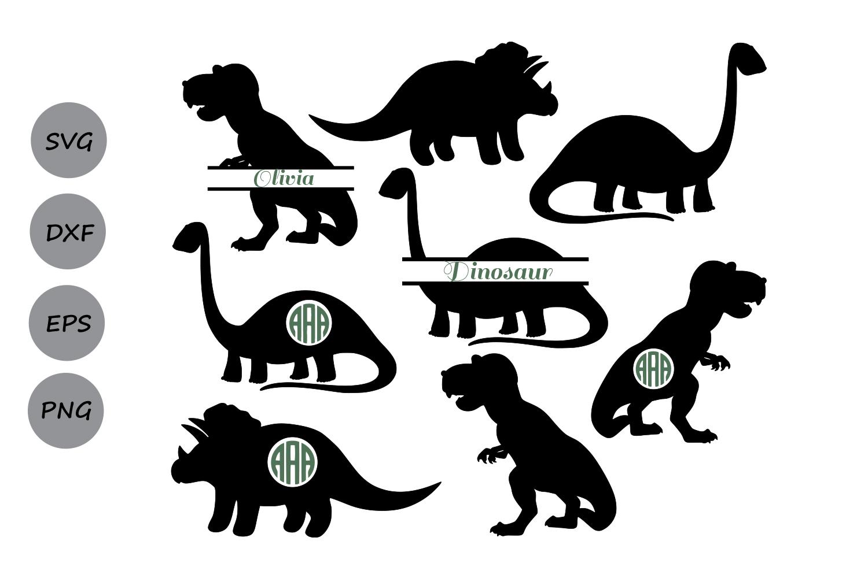 Dinosaur Svg Animals Svg Dinosaur Sil Design Bundles
