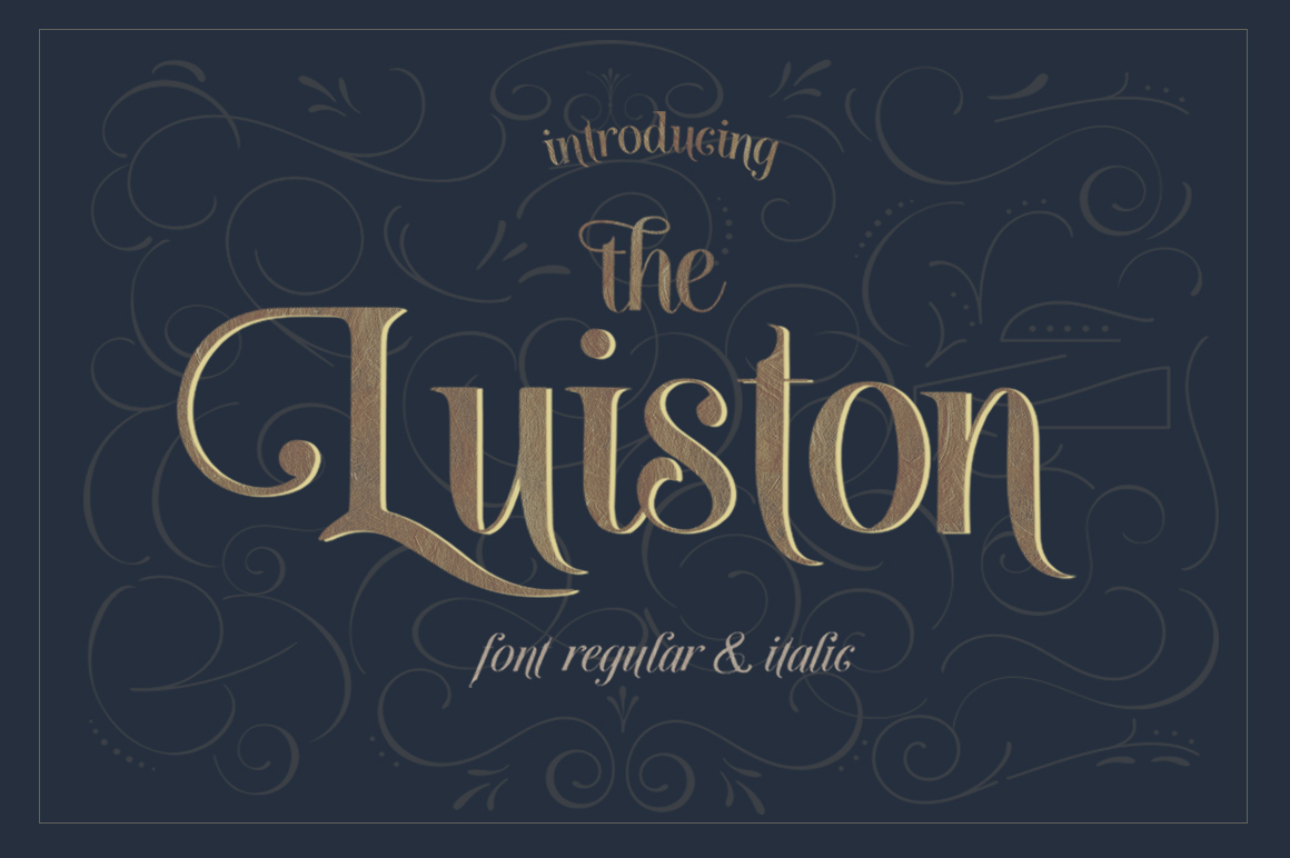 The Luiston San Serif example image 1