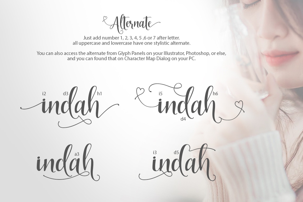 Indah Script example 4