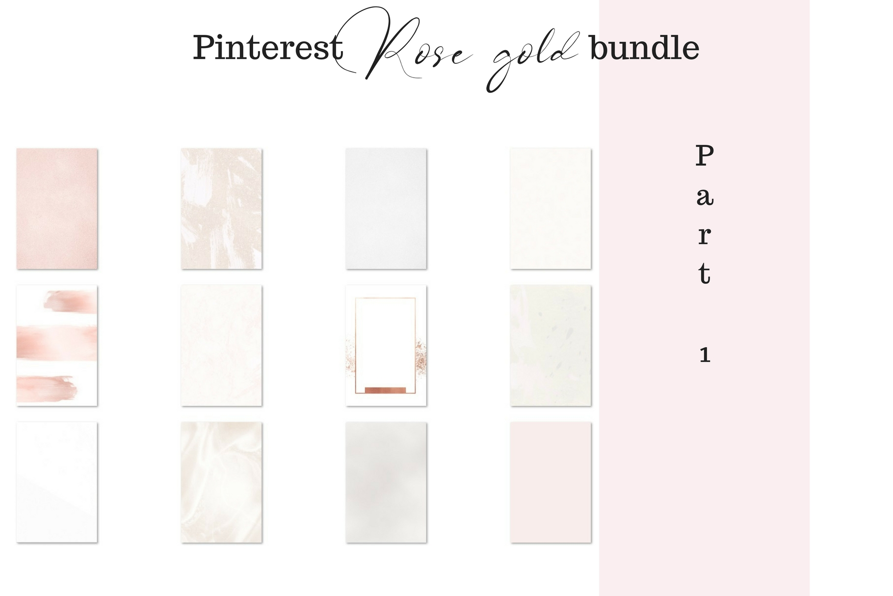 Pinterest rosé gold bundle example image 2
