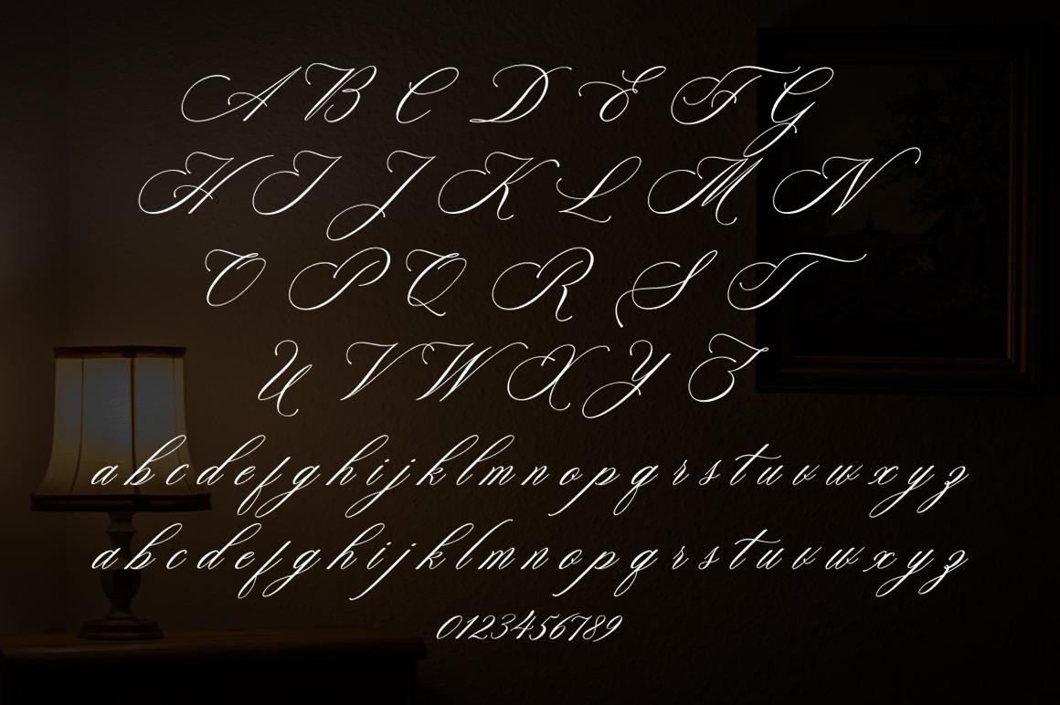 Faradisa Script example image 2