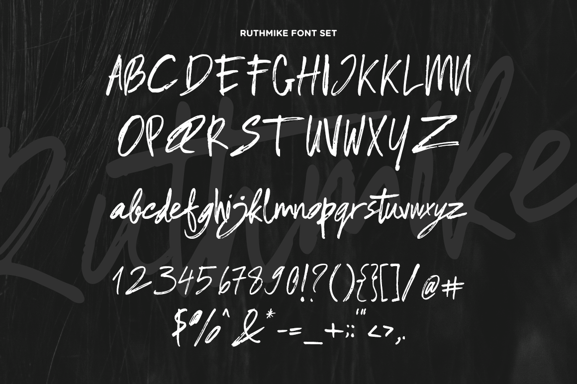 Ruthmike Brush Font - 20% OFF example image 5