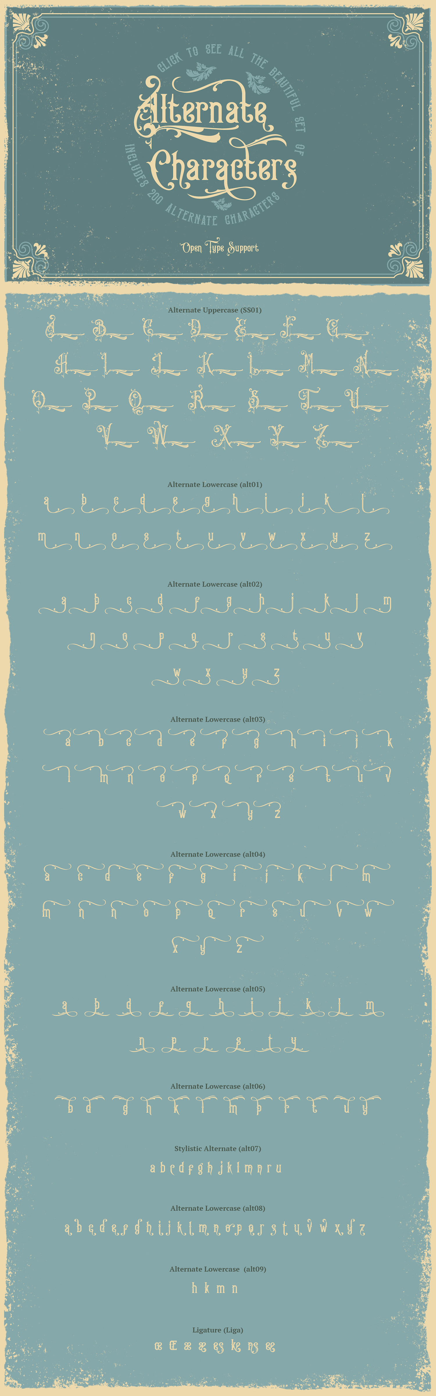 Victorian Fonts Collection example image 7