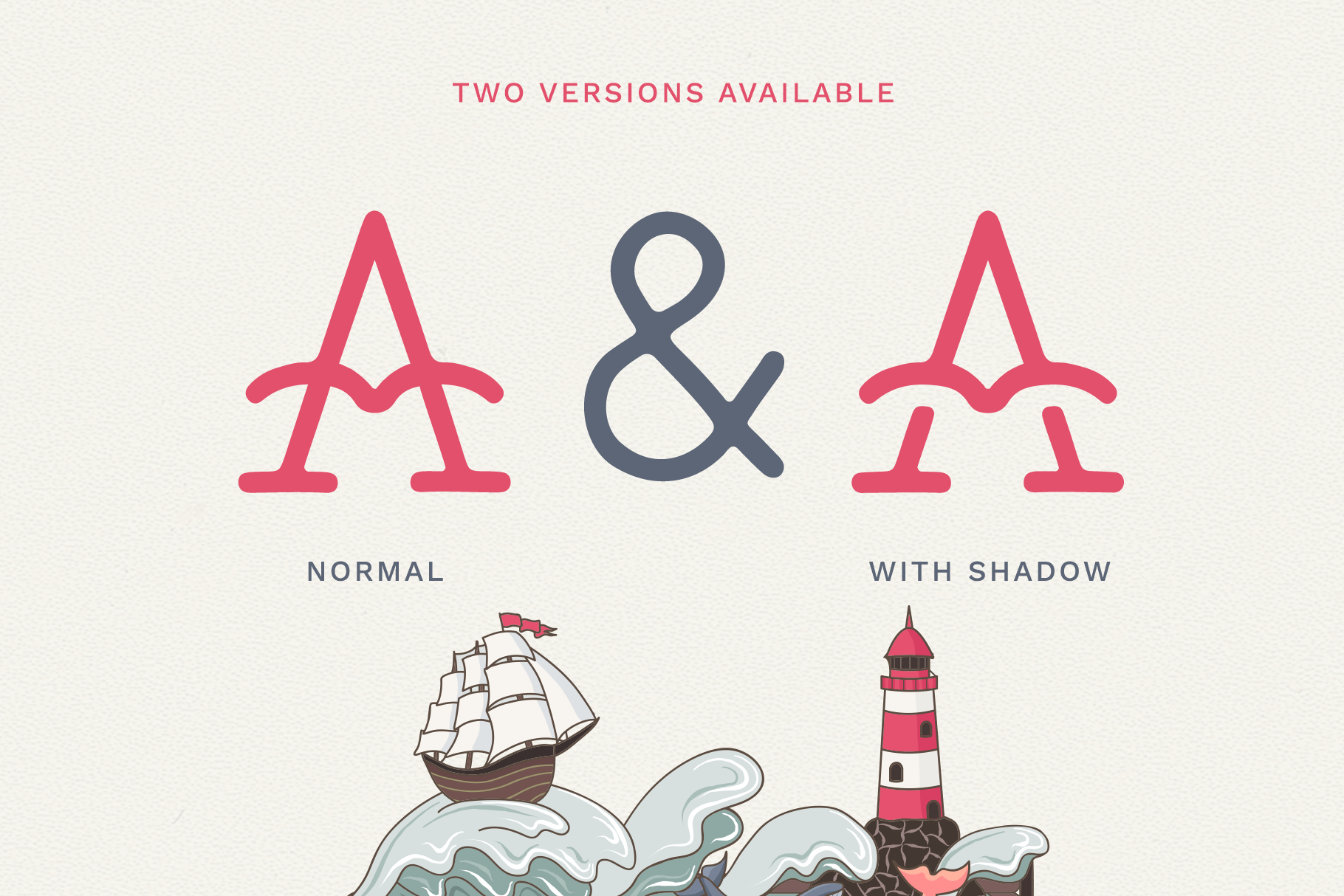 The Bearded Sailor - Tattoo Font example image 2