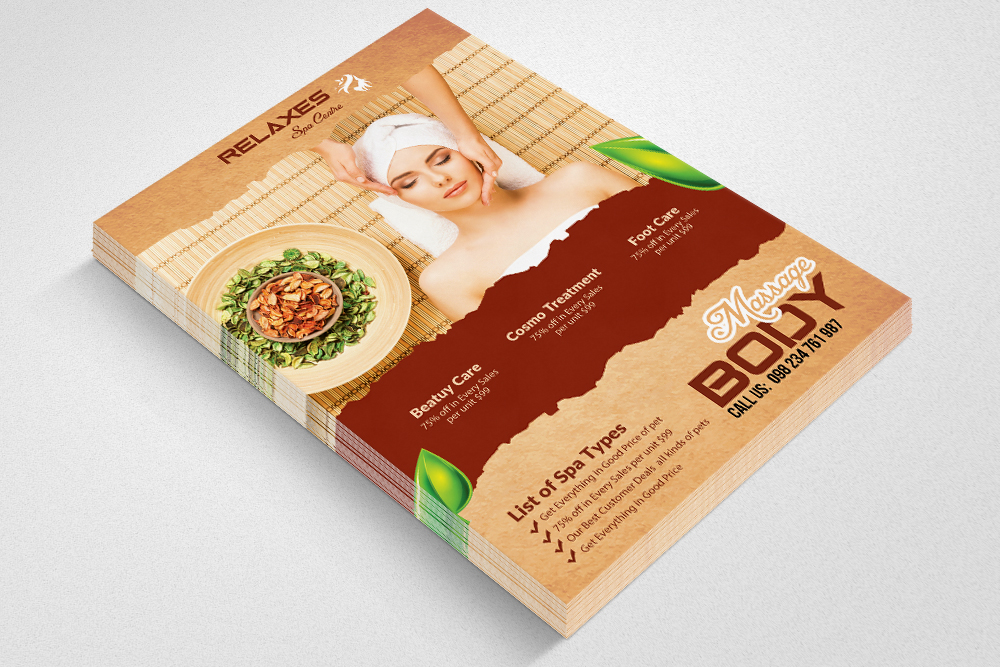 10 Beauty Spa Flyer Templates Bundle Design Bundles