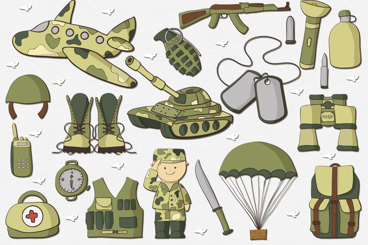 Army Pack example image 2