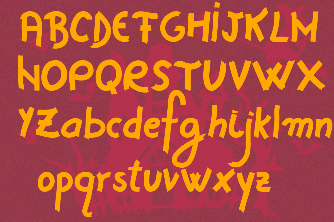 Horror Story Font - A Spooky Brush Font example image 5