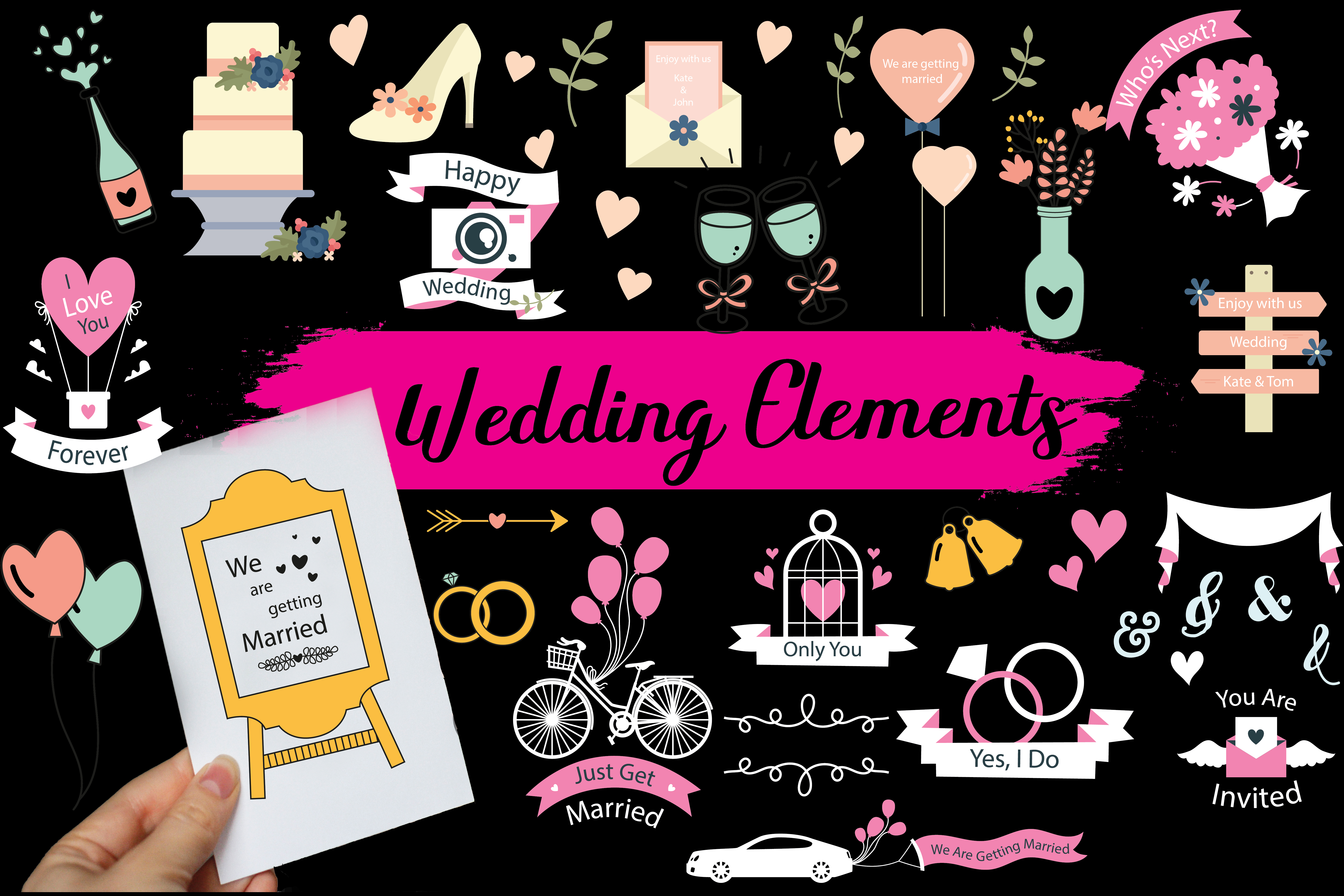 wedding elements,wedding cards,wedding,anniversry,wedding wreaths,floral wedding elements,wedding patterns,wedding cards,wedding,elements example image 1