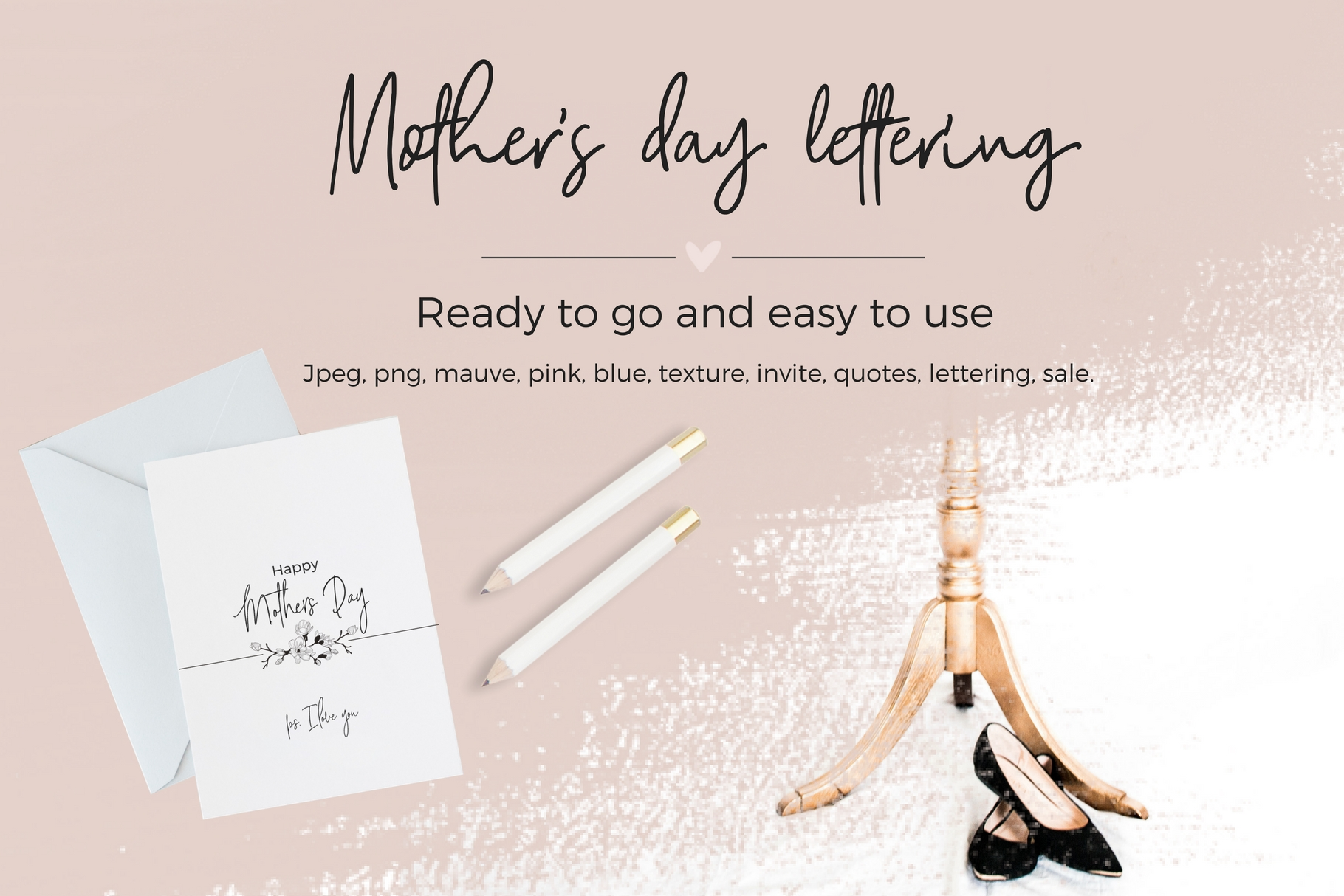 Mother's Day Lettering example image 1