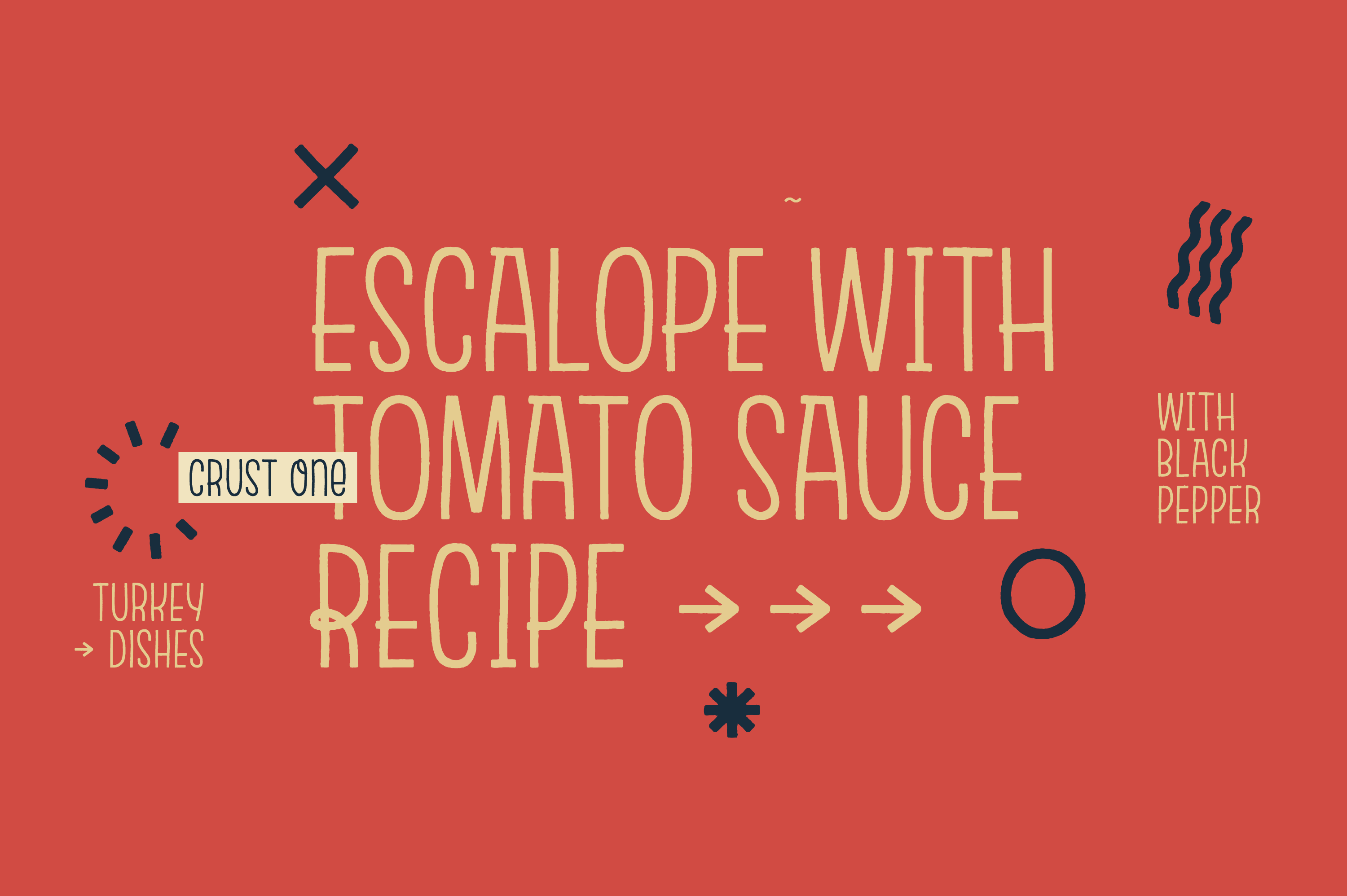 Escalope Crust One + Icons example image 17