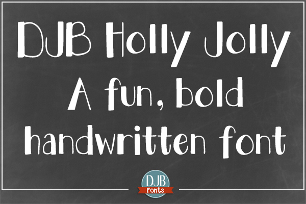 DJB Holly Sessions Font Bundle example image 9