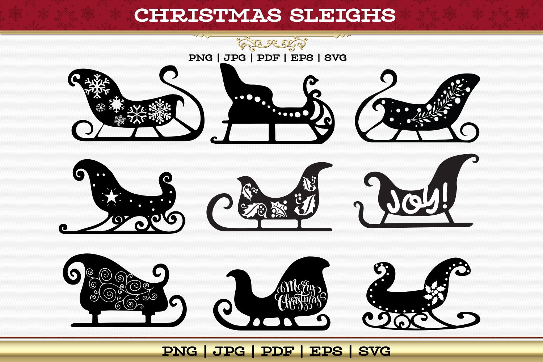 Christmas Sleigh Collection example image 5