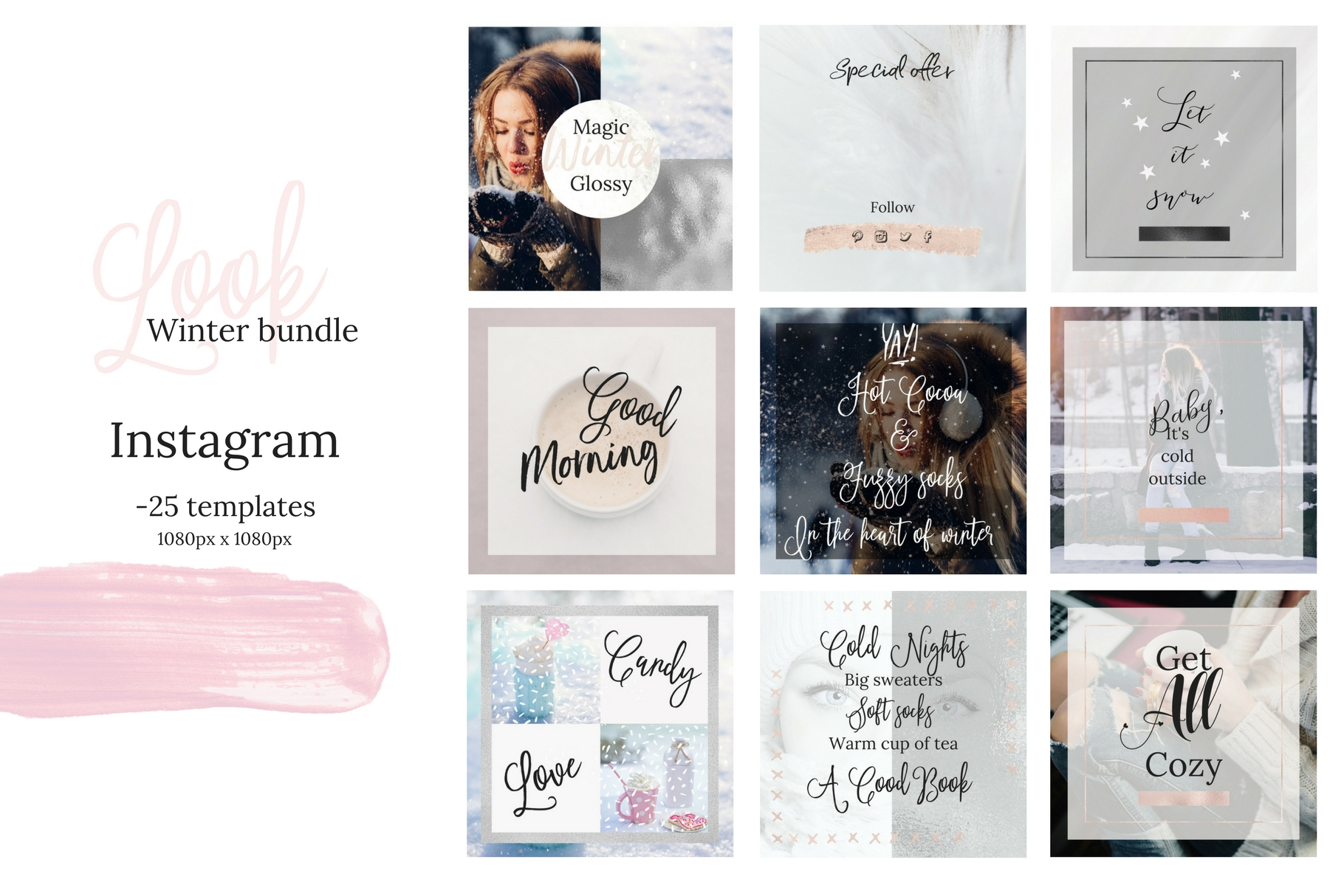 Instagram winter bundle example image 8