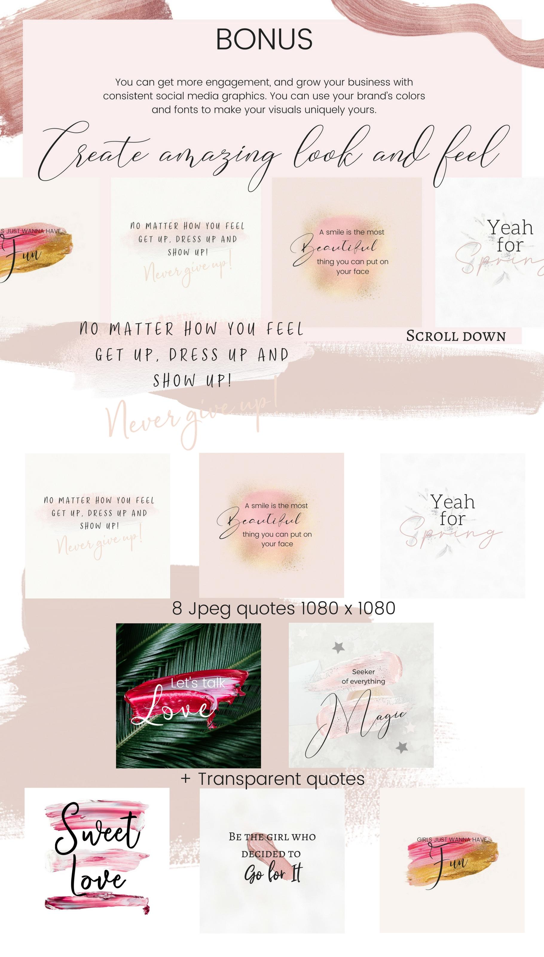 CFY - Sweet pink Social media example image 6