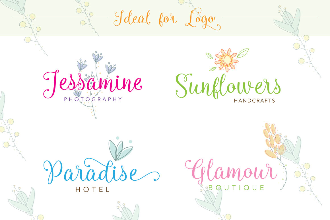 Queensha Typeface example image 4