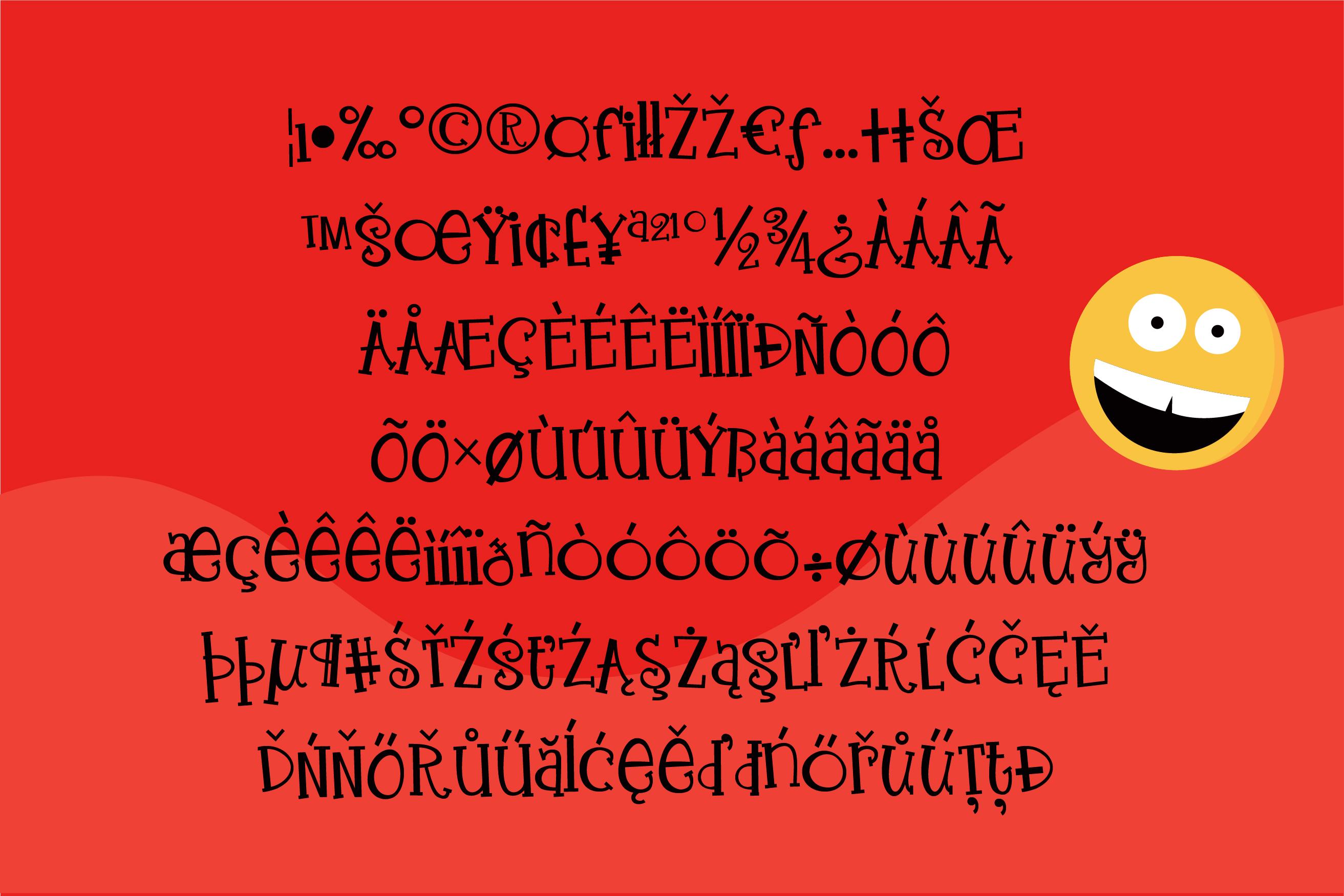 ZP Enthusiasm Serif example image 3