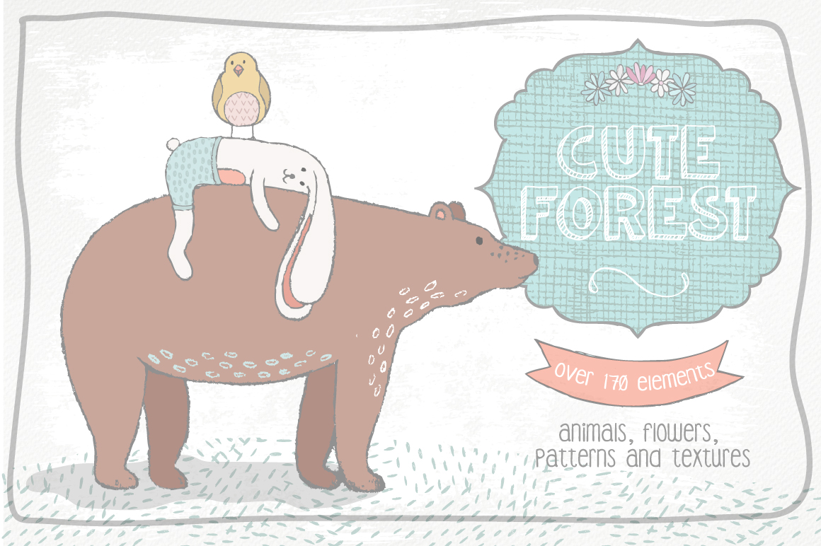 Cute Forest Collection example image 1