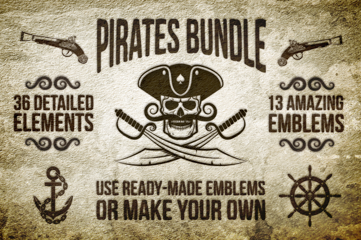 Pirate Bundle example image 1