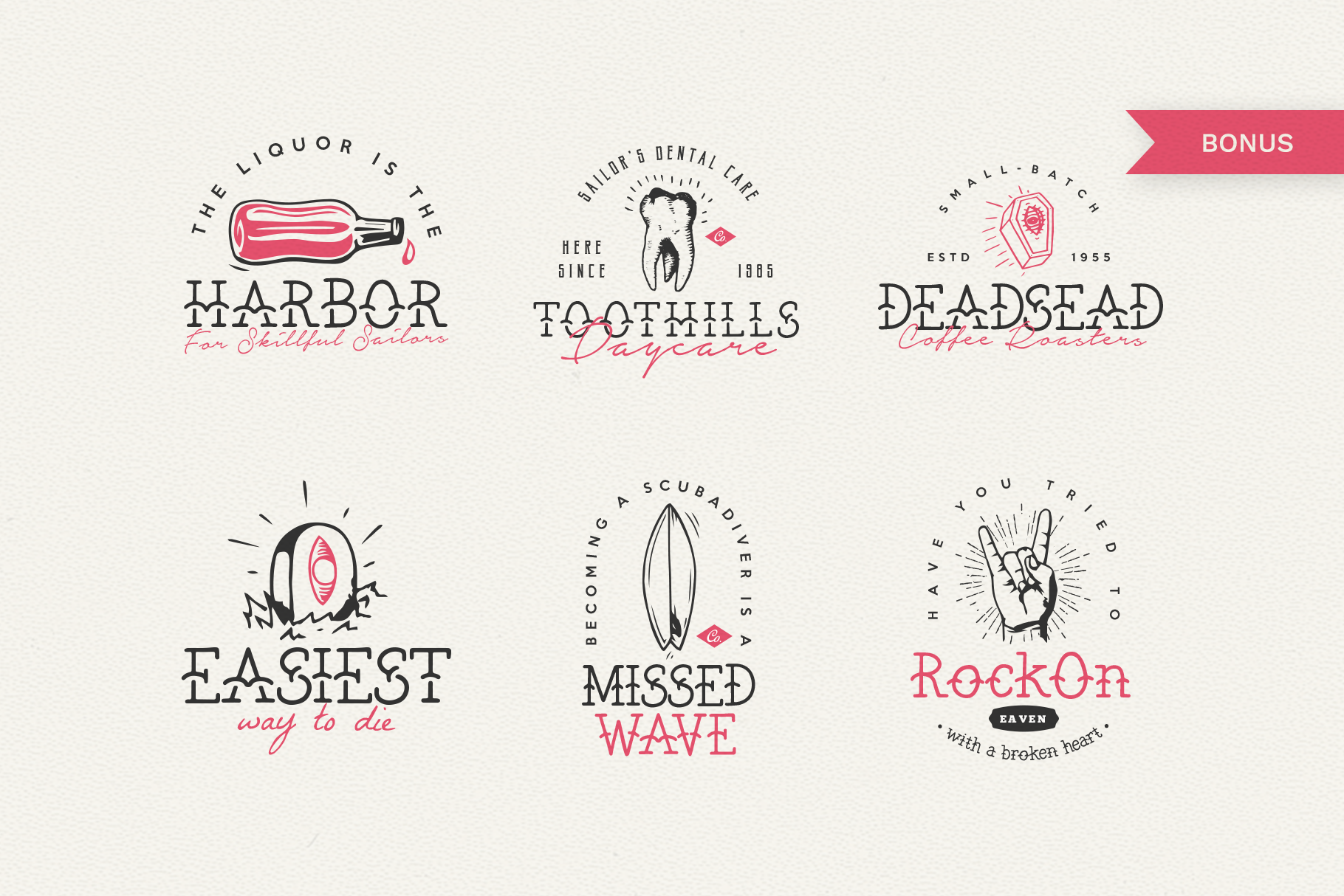 The Bearded Sailor - Tattoo Font example image 3