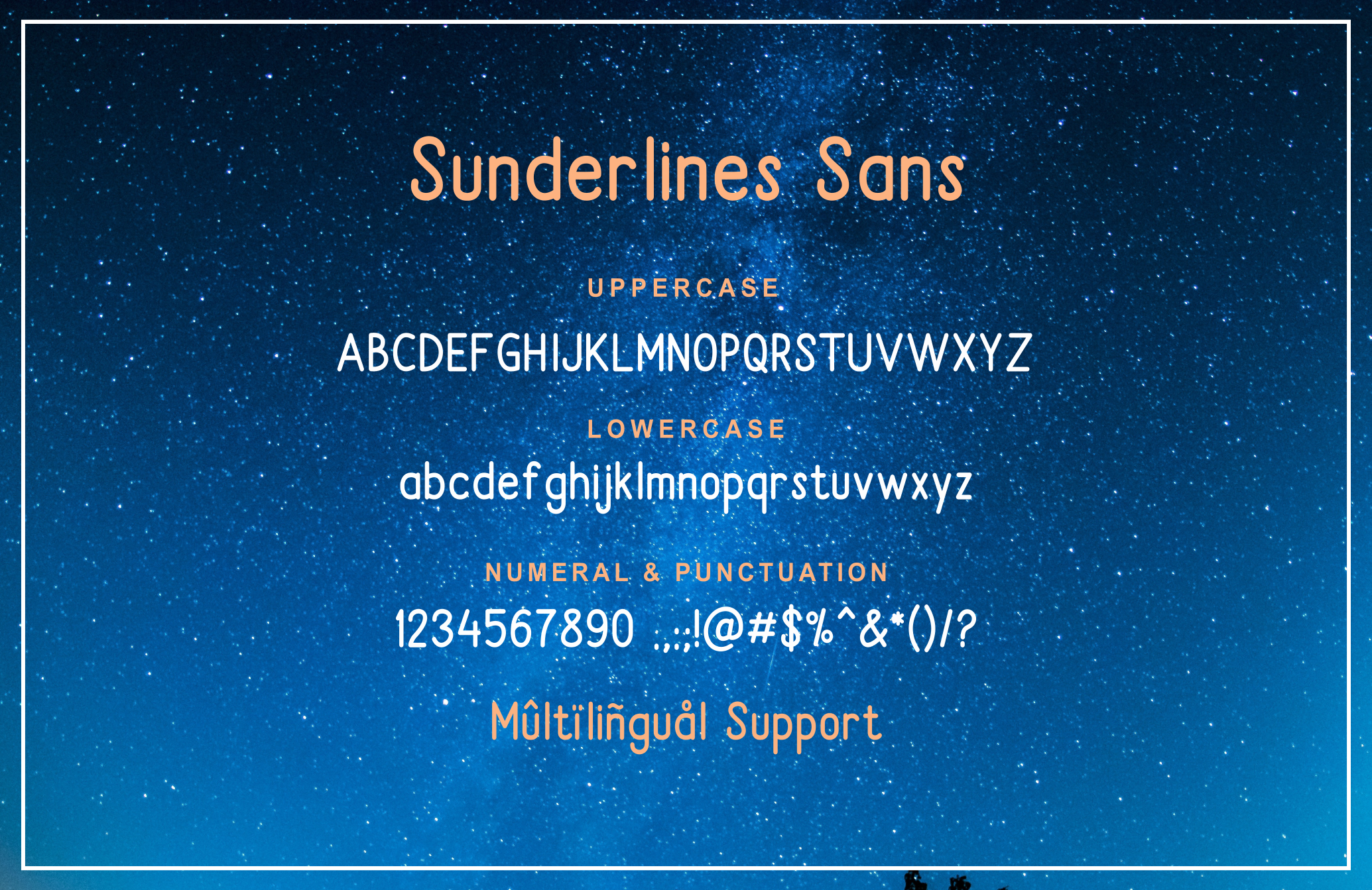 Sunderlines - Script and Sanserif example image 10