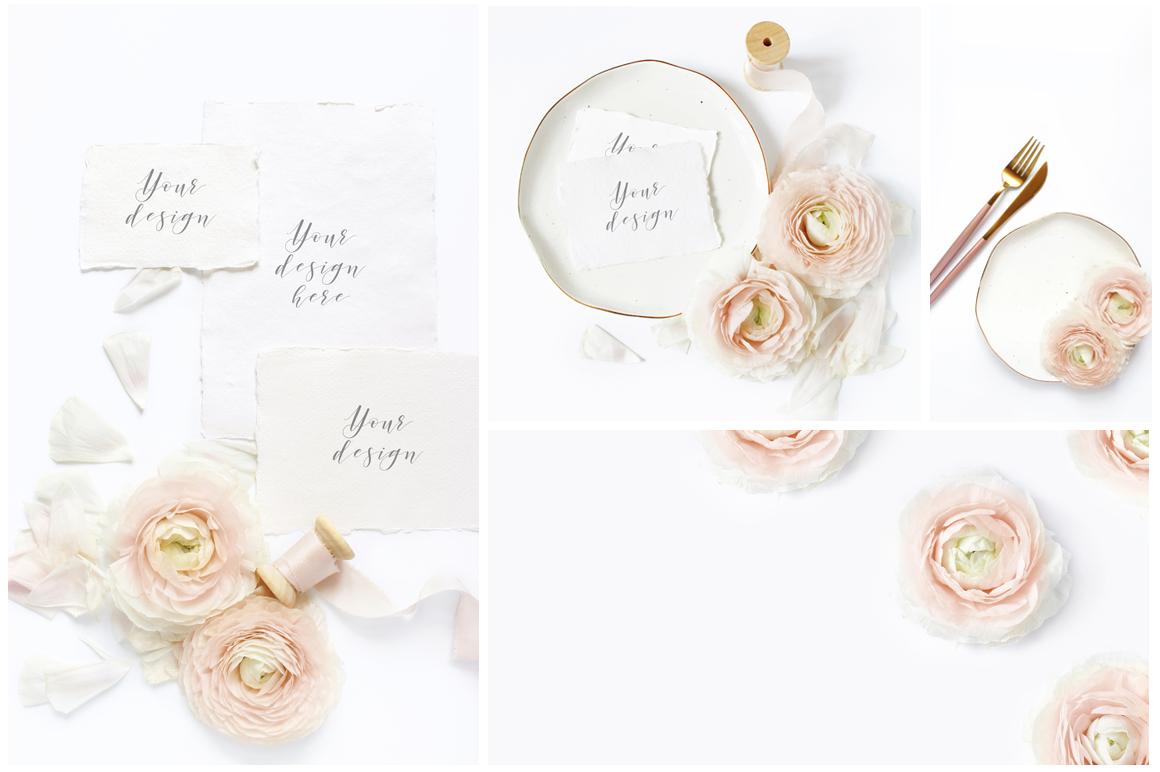 Blush Wedding mockups  & stock photo bundle example image 2