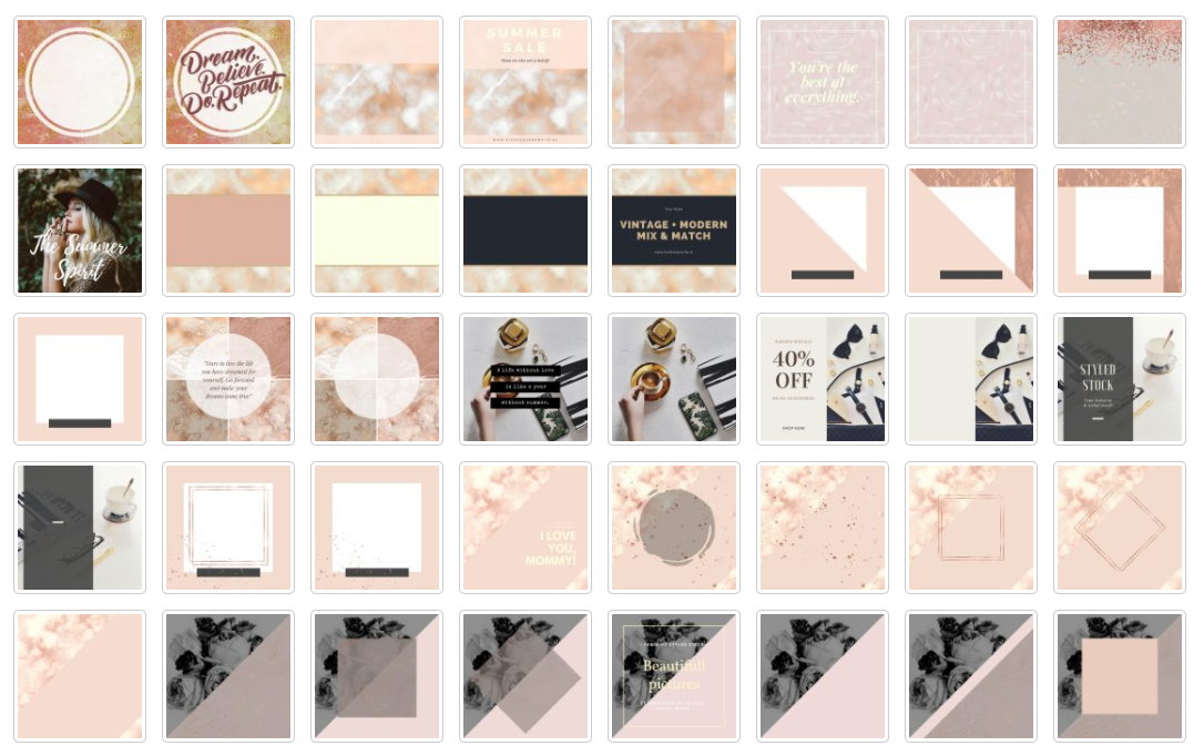 Instagram Rose gold part 1 example image 3