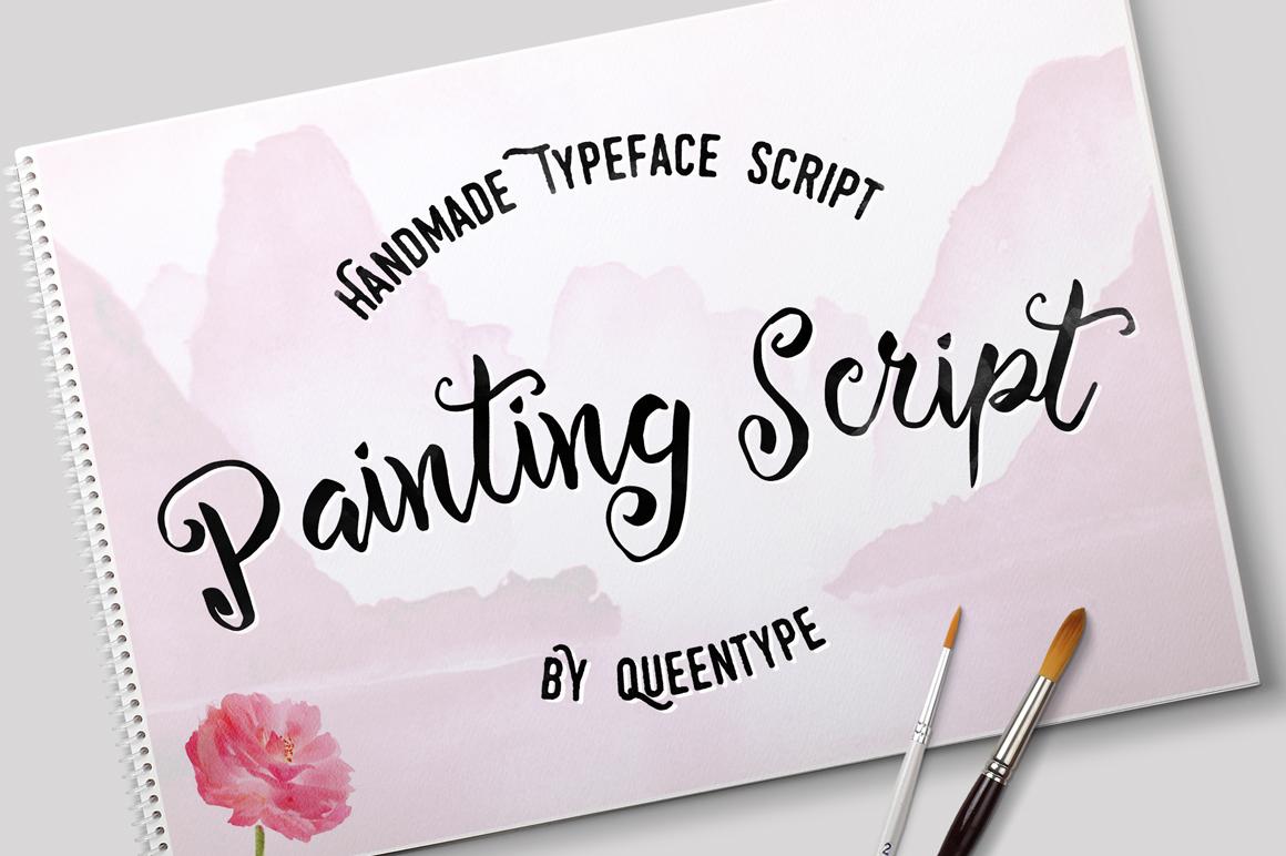Painting Script + Bonus example image 1