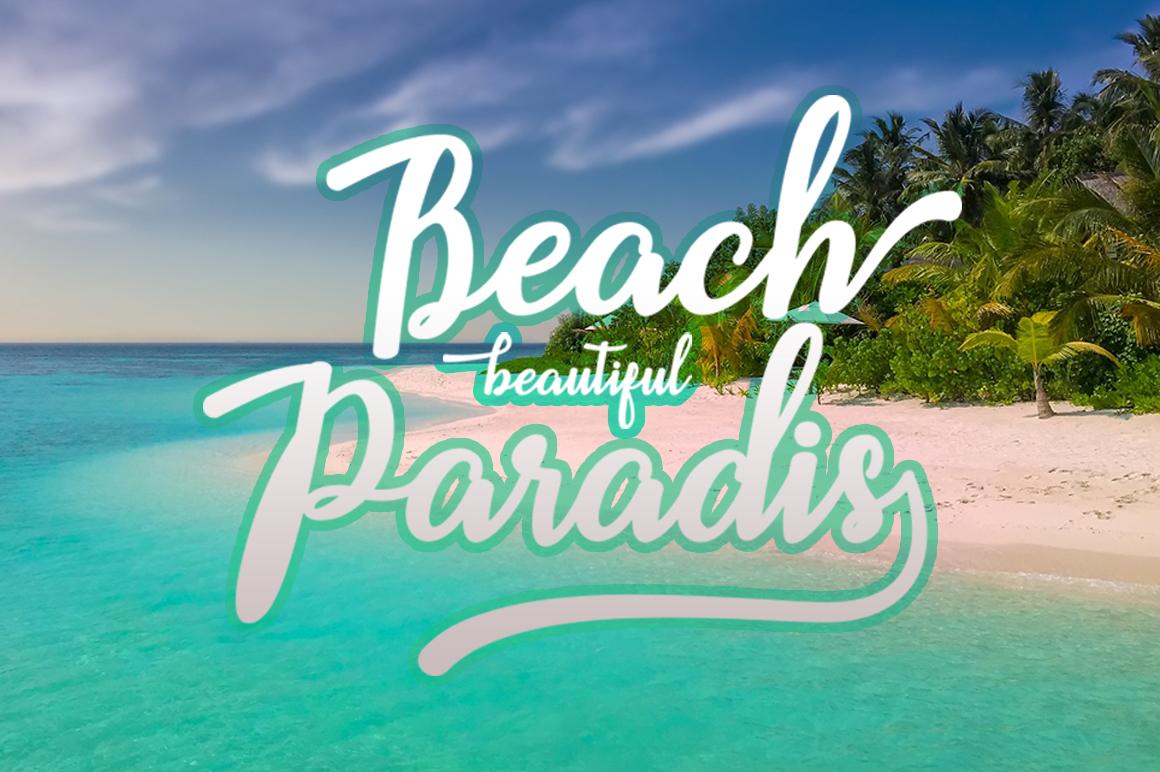 Beach example 2