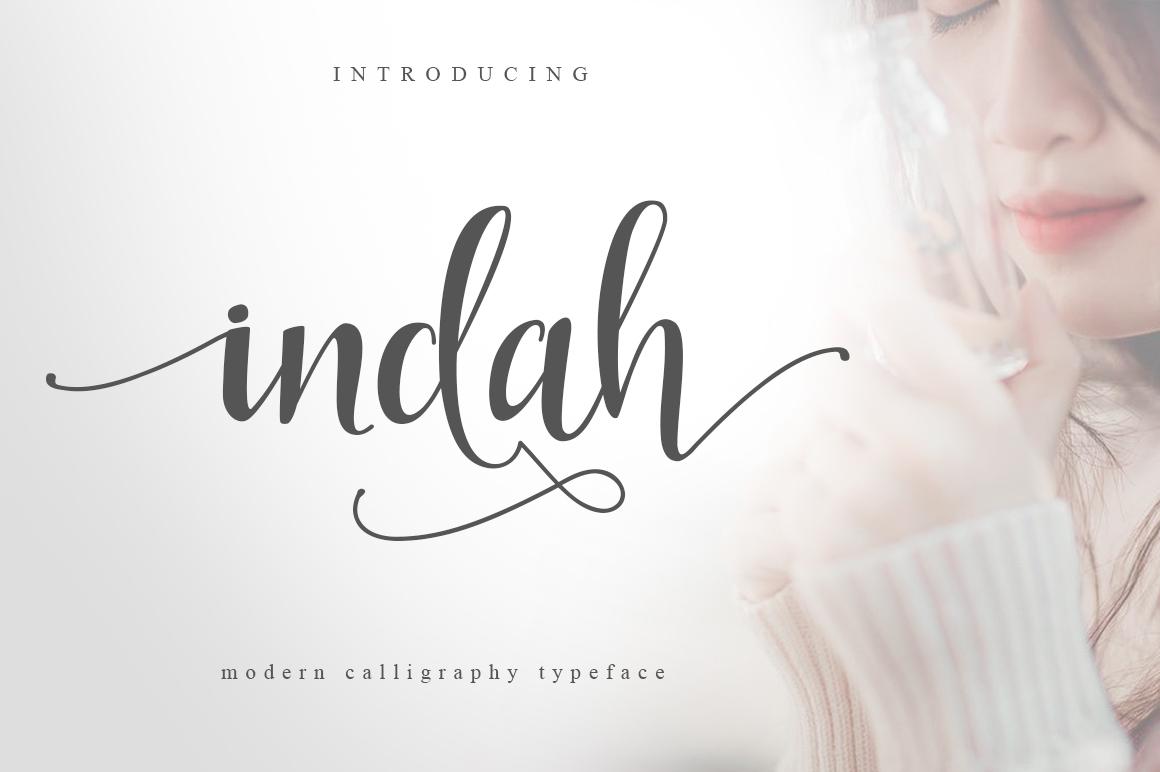Indah Script example 1