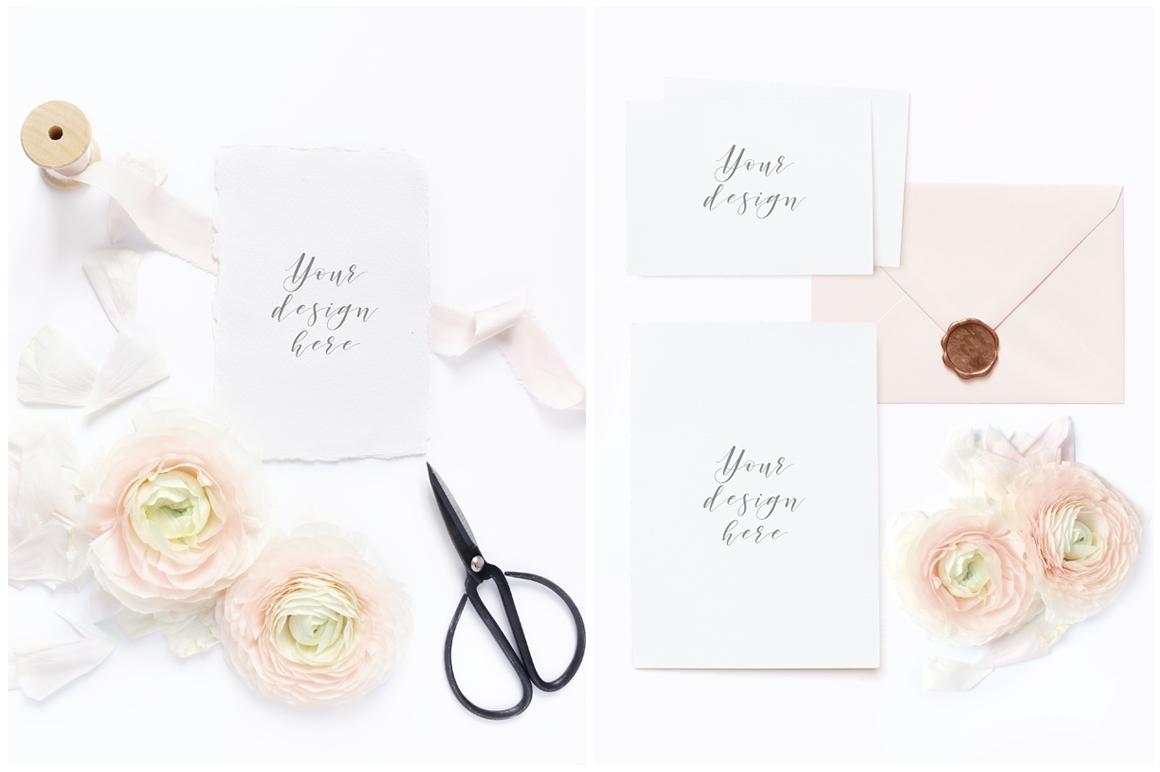 Blush Wedding mockups  & stock photo bundle example image 3