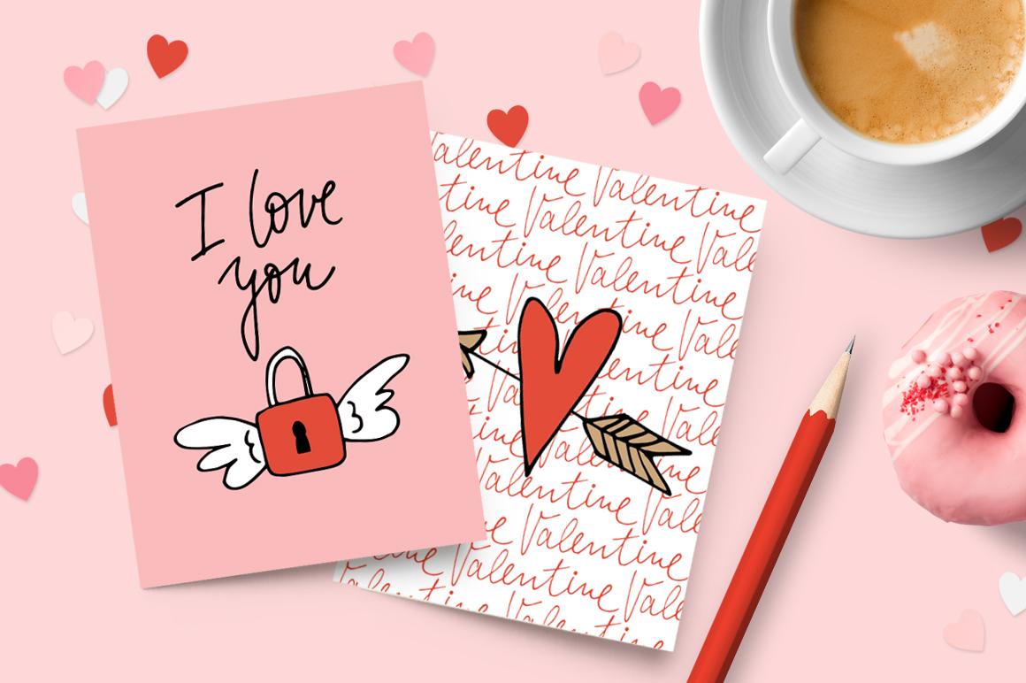 Happy Valentine graphic set example image 2