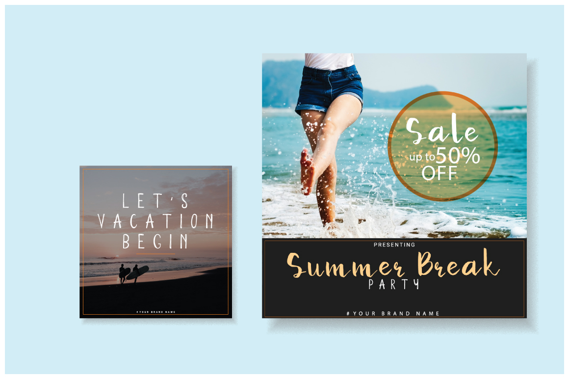 Summer sale | Mini social Pack example image 5