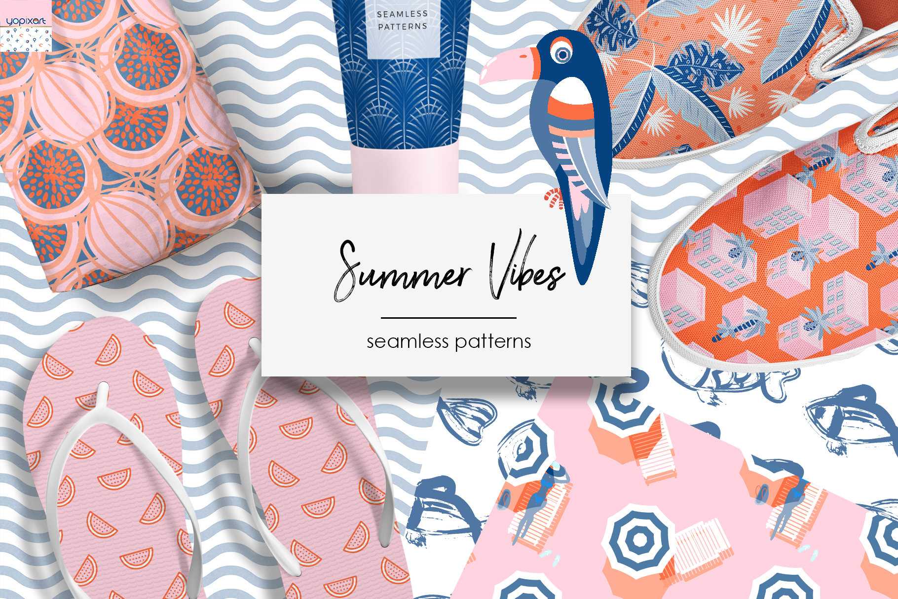 Summer Vibes  Graphics & Patterns Example Image 1