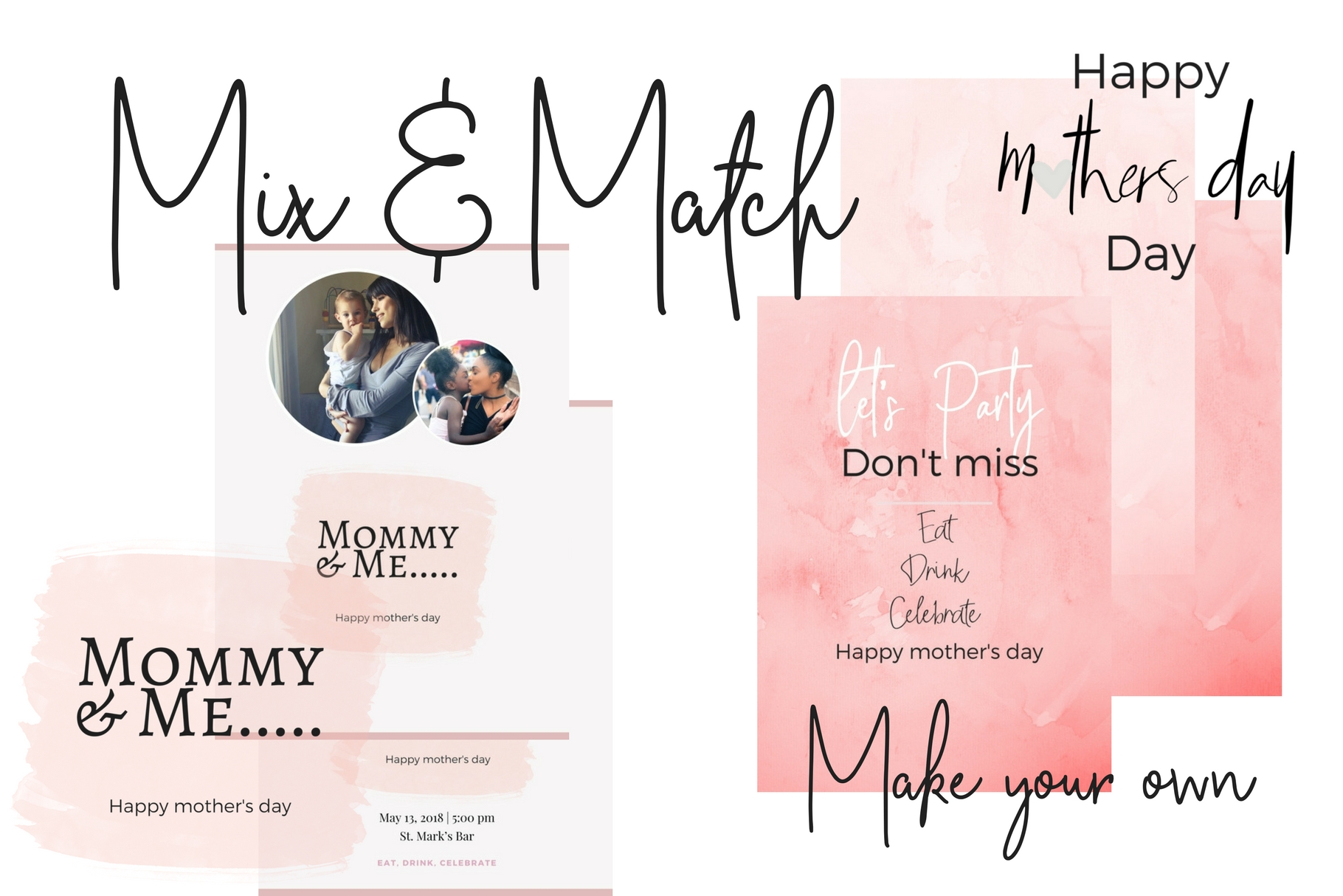 Mother's Day Lettering example image 2